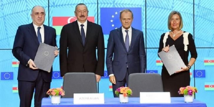 Azərbaycanla Avropa İttifaqı sənəd imzaladı