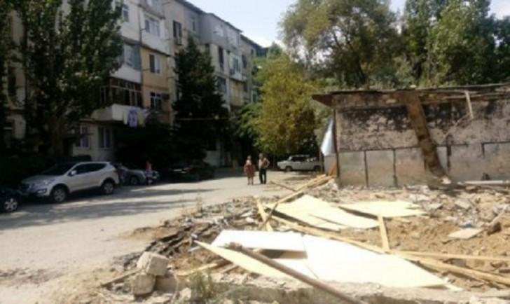 Nəsimi rayonunda ağac kəsintisinin qarşısı alınıb