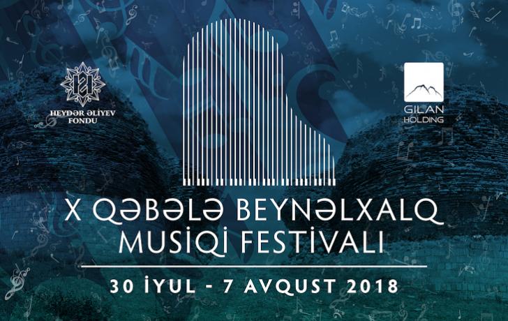 X Qəbələ Beynəlxalq Musiqi Festivalı proqramını açıqlayıb