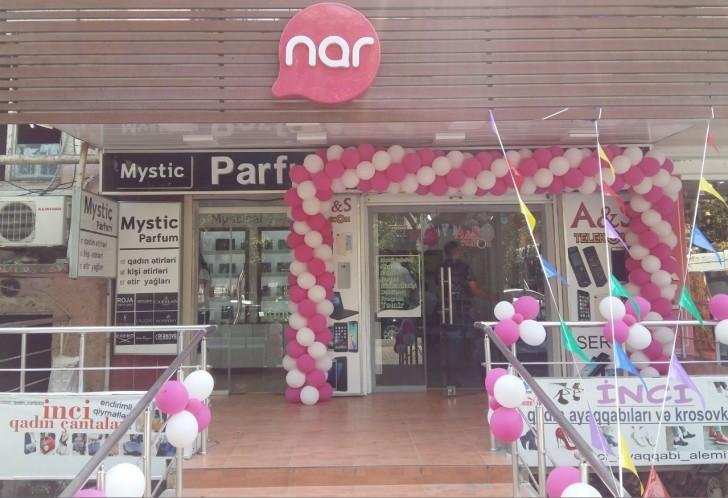"""""""Nar"""" yeni dizaynlı mağazasını təqdim etdi"""