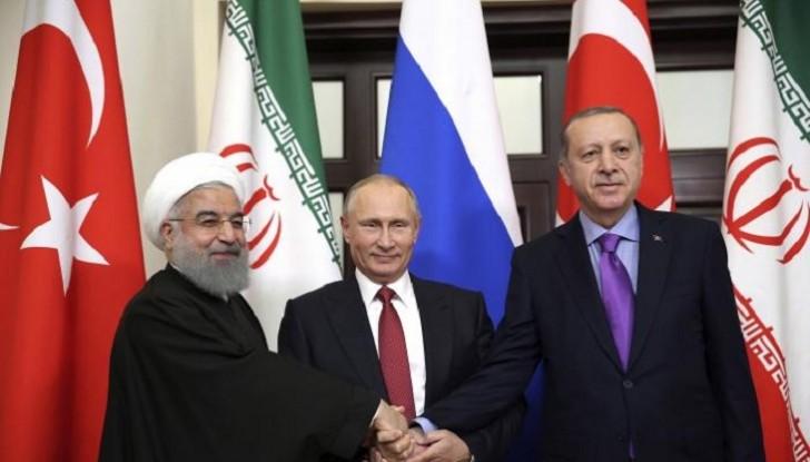 Türkiyə, Rusiya və İran rəhbərləri Tehranda görüşəcək