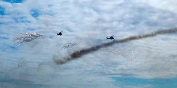 Hərbi Hava Qüvvələri hərəkətə keçdi-