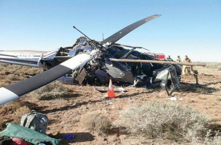 İraqda ABŞ helikopteri qəzaya düşdü: