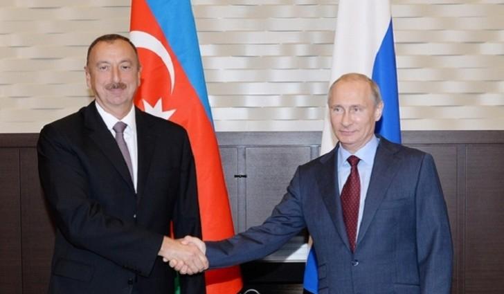 Soçidə Əliyev-Putin danışıqları gedir