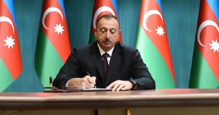 Prezident İlham Əliyev 2 sərəncam imzaladı