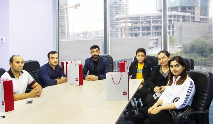 """""""Nar""""-ın Bilik Günü müsabiqəsində iştirak edənlər hədiyyələr qazandı"""