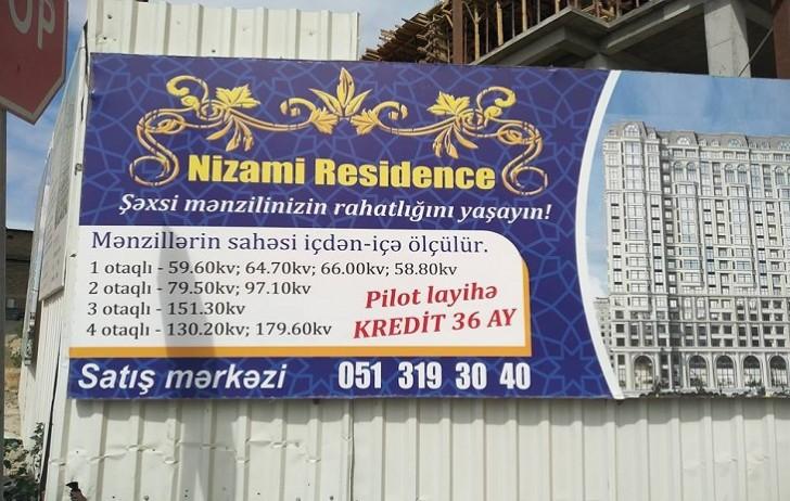 """""""Nizami Residence"""" çalışanların həyat və sağlamlığını təhlükəyə atır-"""