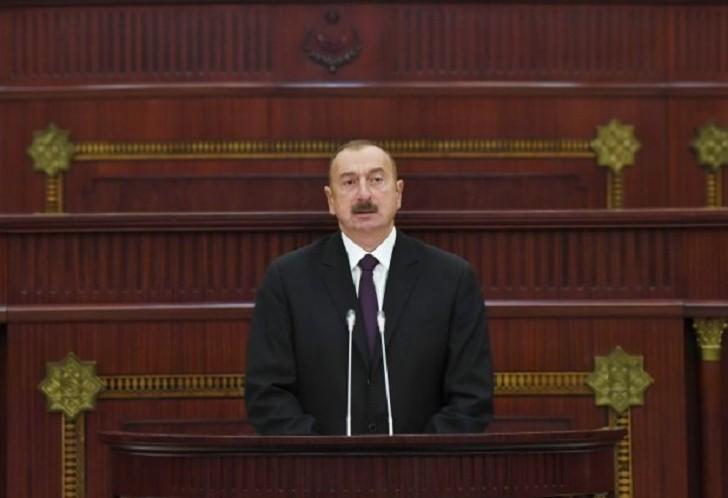 """İlham Əliyev: """"Ermənistanın yeni rəhbərliyi öz siyasətində ciddi dəyişikliklər etməlidir"""""""