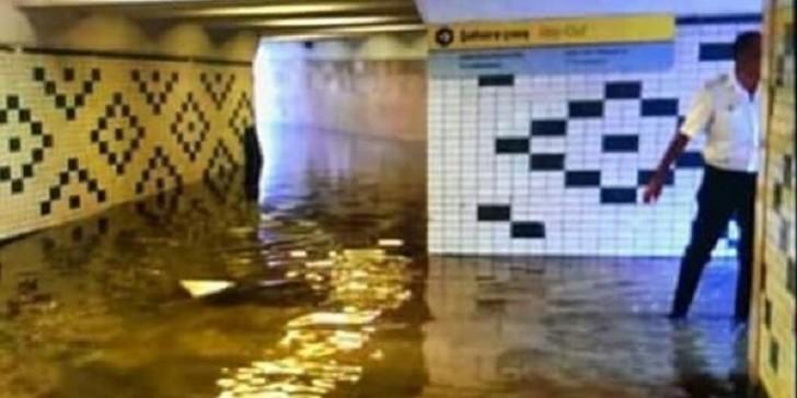 Metropolitendən Əcəmi stansiyasını su basması ilə bağlı