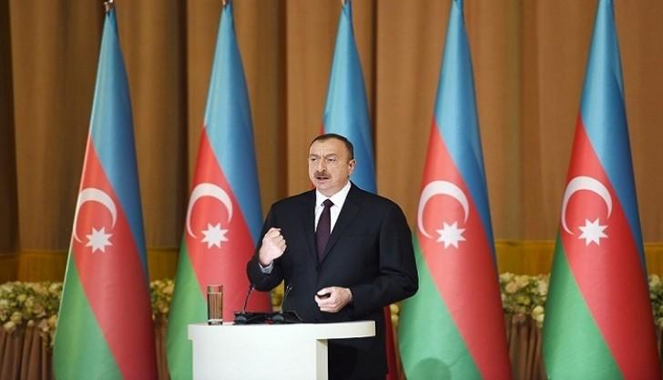 İlham Əliyev Azərbaycan xalqını təbrik etdi: