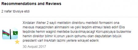 """""""Kim nə deyir, mənə maraqlı da deyil""""- məktəb direktoru/VİDEO"""