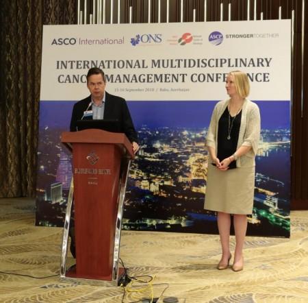 """Bakıda """"Beynəlxalq multidissiplinar xərçəng müalicəsi"""" mövzusunda beynəlxalq konfrans keçirilir-"""
