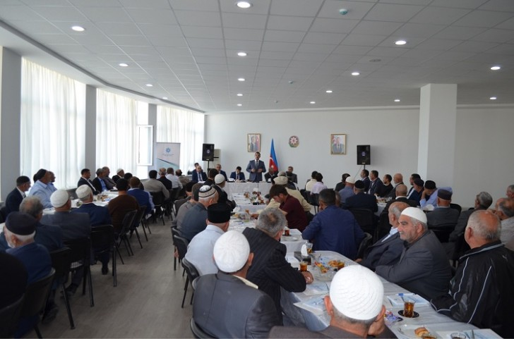 """Sabirabadda """"Şəhidlik mənəvi dəyər kimi"""" mövzusunda seminar-treninq keçirilib"""