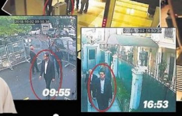 Jurnalistin cəlladının konsulluq binasındakı görüntüləri yayıldı