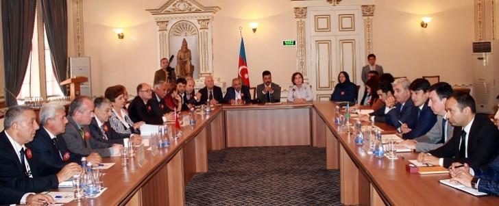 Türkiyədəki diaspor təşkilatlarının rəhbərləri Dövlət Komitəsində görüş keçirib