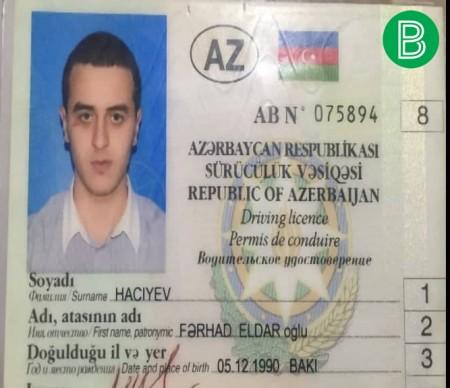 AZAL-ın vitse-prezidentinin oğlu sərxoş halda saxlanıldı-
