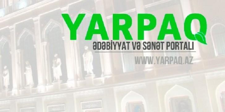 Yarpaq.Az - Ədəbiyyat və Sənət Portalı fəaliyyətə başladı