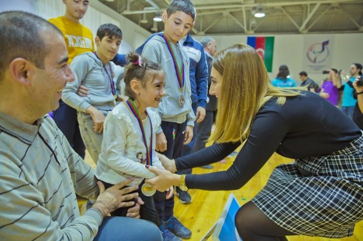 """""""Azercell""""in dəstəyi ilə IV Uşaq Paralimpiya oyunları keçirilib"""