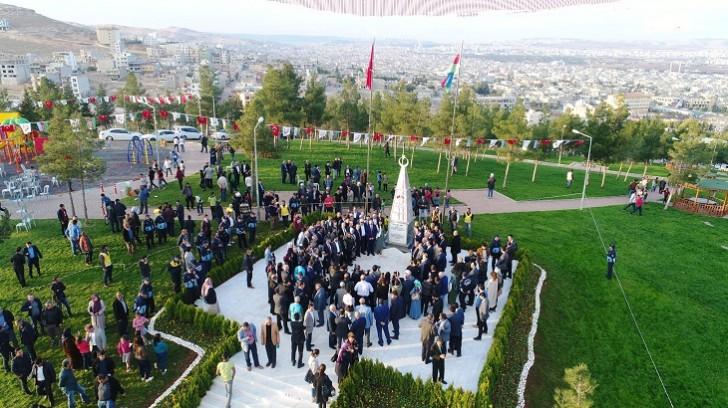 Şanlıurfada Qarabağ parkının və Xocalı abidəsinin açılışı olub-