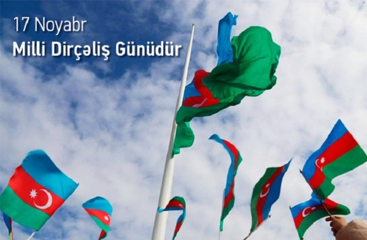 Azərbaycanda Milli Dirçəliş Günüdür