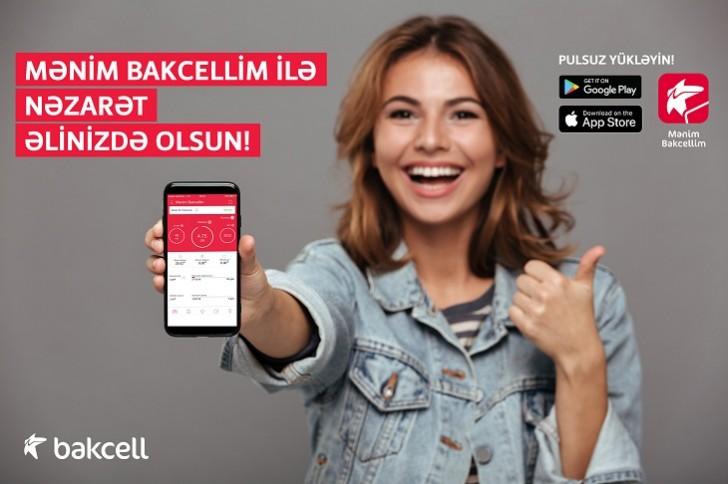 """""""Mənim Bakcellim"""" mobil applikasiyasında yenilik:"""