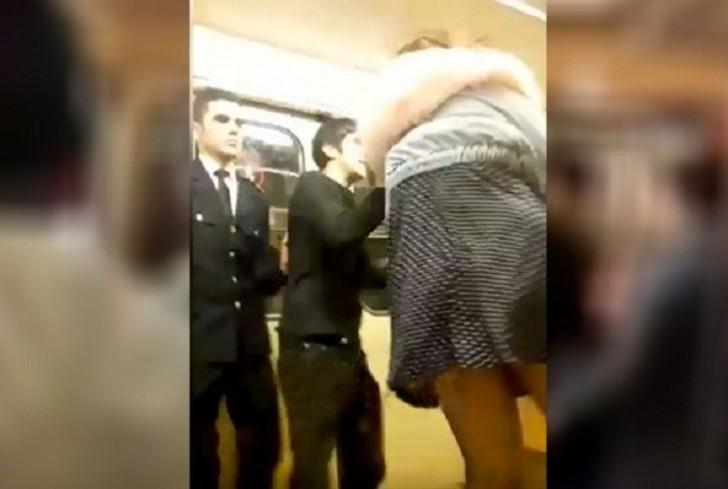 Bakı metrosunda biabırçılıq: