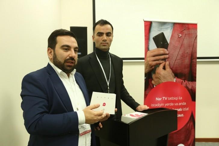 """""""Nar"""" media nümayəndələrinə yeni məhsullarını təqdim etdi"""