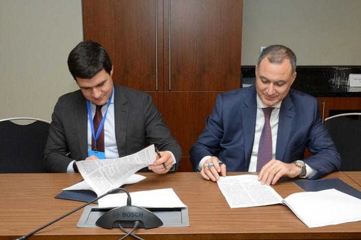 """""""Azərpoçt"""" """"Rusiya poçtu"""" ilə memorandum imzalayıb"""
