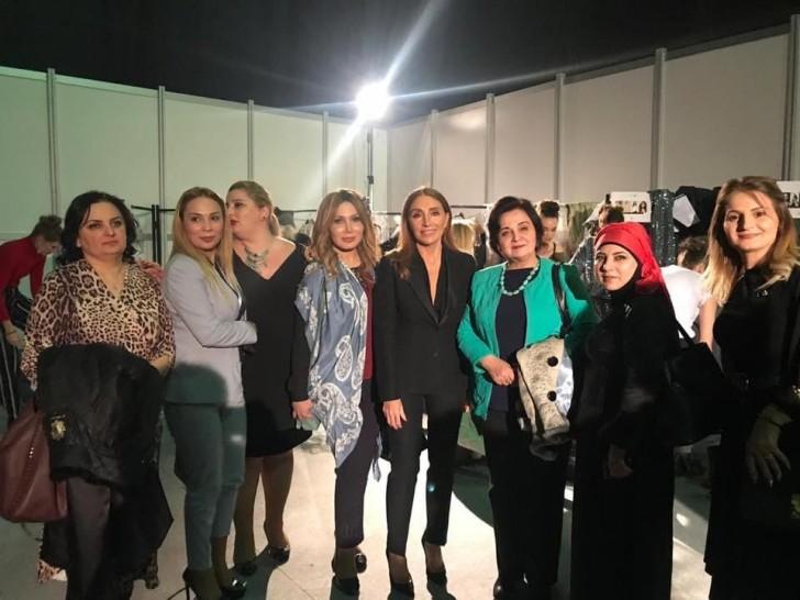 İstanbulda 5-ci Fashionİst 2018 beynəlxalq gəlinlik və ziyafət geyimləri sərgisi keçirilib