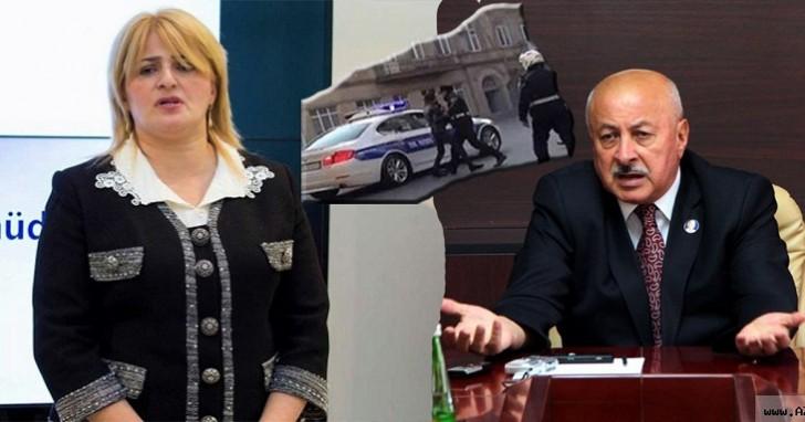 Masallı İcra başçısının müavini oğlu avtomobili ilə polisi vuraraq reanimasiyalıq etdi-