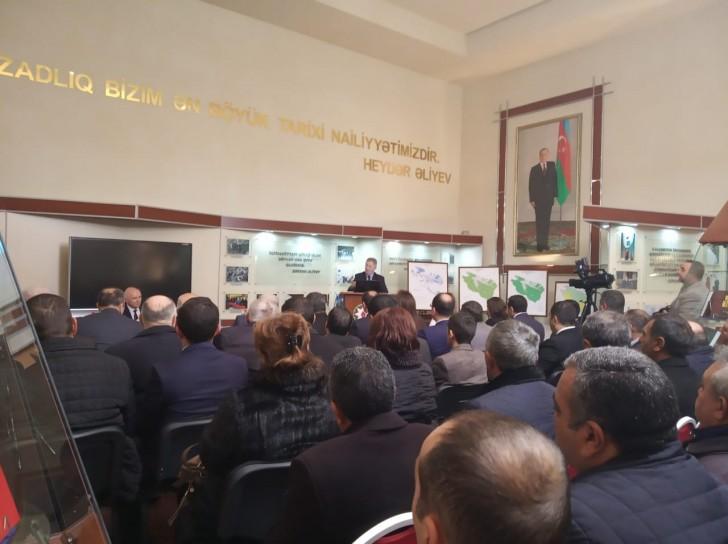 Torpaqların Elektron Kadastr Uçotu işlərinin nəticələri Daşkəsən rayonunda istifadəyə verildi