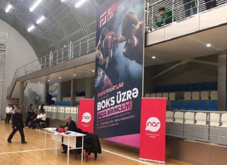 """""""Nar"""" Azərbaycanda keçirilən boks üzrə yarışa dəstək oldu"""