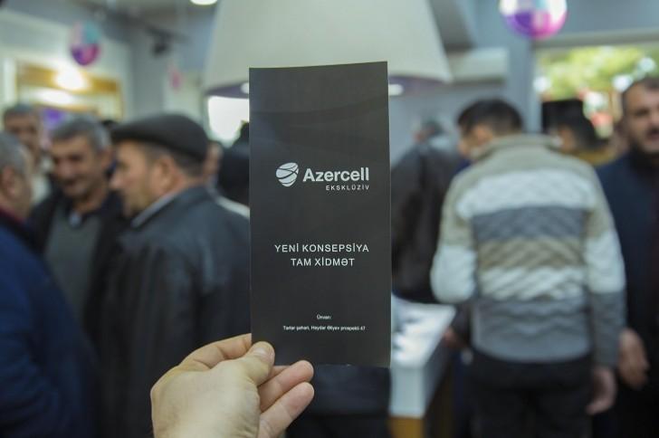 Azercell 20-ci Eksklüziv mağazasını istifadəyə verdi