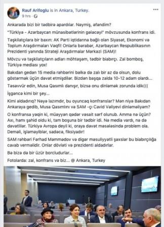 SAM rəhbərliyi prezidenti aldadır?-