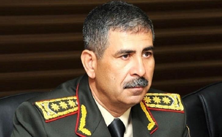 Zakir Həsənov İranın müdafiə nazirinə başsağlığı verib