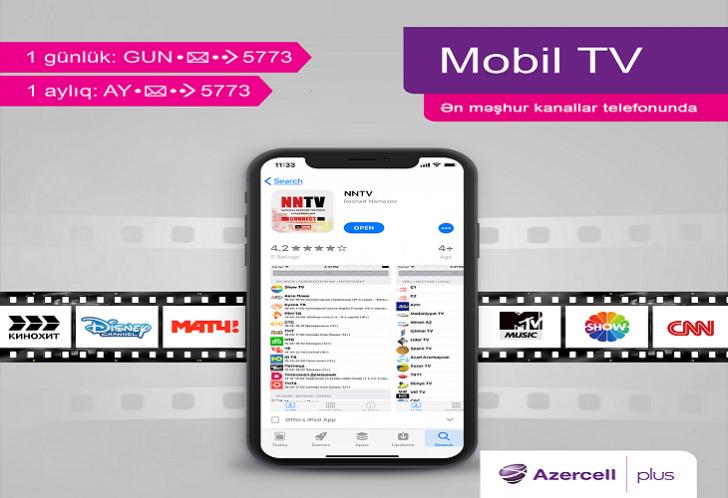 Azercell NNTV xidmətini təqdim edir