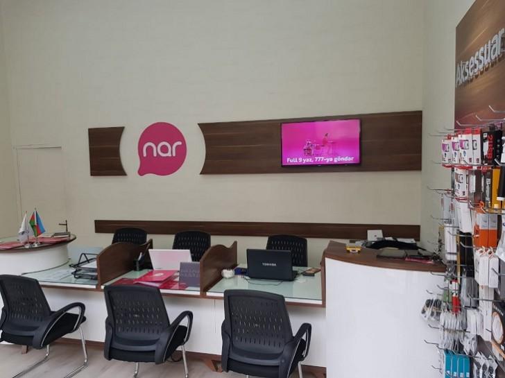 """""""Nar"""" paytaxtda yeni rəsmi mağazasını təqdim etdi"""