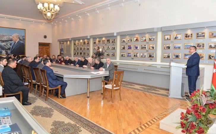 Dövlət Komitəsində 20 Yanvar faciəsinin ildönümü qeyd edilib-
