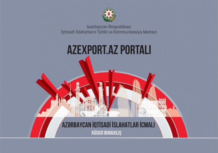 """""""Azexport"""" portalının xüsusi buraxılışı nəşr olundu"""