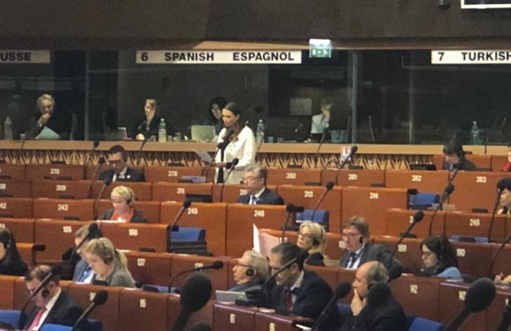 Qənirə Paşayeva Avropa təşkilatlarını Ermənistanın işğalçılıq siyasətini durdurmaq üçün addımlar atmamaqda ittiham edib
