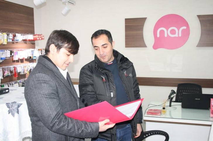 """""""Nar"""" Zərdabda yeni rəsmi mağazasını təqdim edib"""