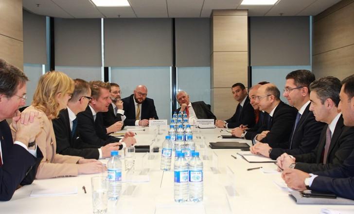 Enerji sahəsində Azərbaycan-Almaniya əməkdaşlığı müzakirə edilib