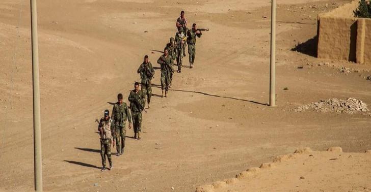 İŞİD terrorçuları da Suriya ordusunun mövqelərinə hücum etdi