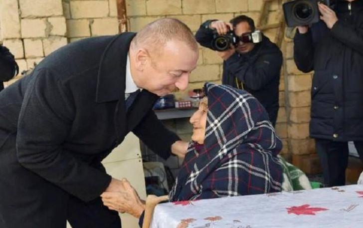 """""""Biz evləri bərpa edəcəyik, yenidən tikəcəyik...""""-"""