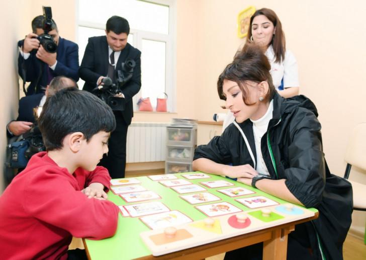 Mehriban Əliyeva Uşaq Mərkəzində-