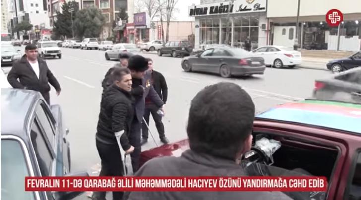 Deputatla Şahmar İbadov Qarabağ qazilərini ayağa qaldırdı-