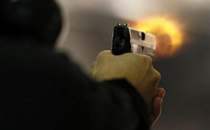 Yevlaxda silahlı insident-