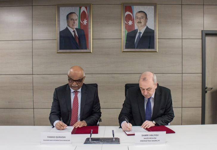 Energetika Nazirliyi ilə Equinor arasında Anlaşma Memorandumu imzalanıb