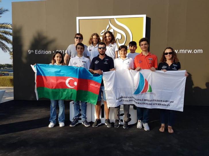 """Omanda """"Mussanah Race Week 2019"""" yelkən yarışlarında iştirak edən Azərbaycan yelkənçiləri qələbə ilə geri dönüblər-"""