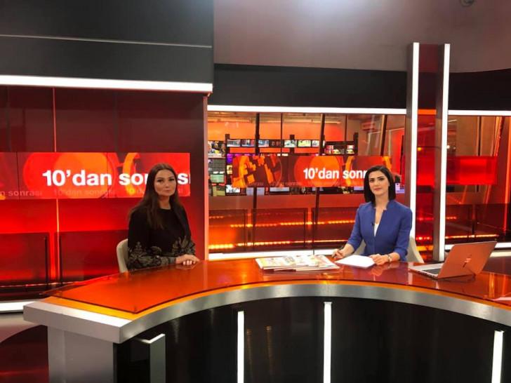 Qənirə Paşayeva Türkiyənin tanınmış TV-lərində Xocalı həqiqətlərindən danışıb
